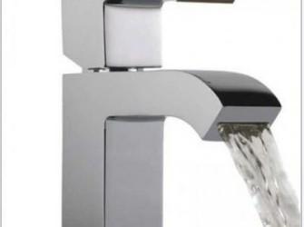 mengkraan wastafel waterval strak design