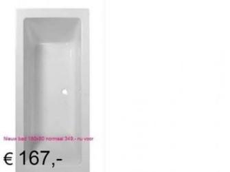 Prachtig Bad 180x80cm Voor Een Spotprijs