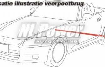 Veerpootbrug  Tenzo R-L  Mitsubishi Eclipse