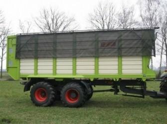 Kaweco radium 50 silagewagen met extra zware aangedreven