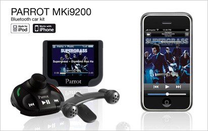 Parrot MKI 9200 bluetooth carkit/ipod/usb
