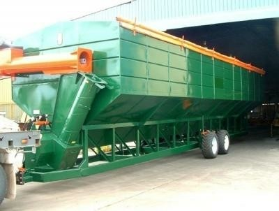 NEW! Field Buffer Bin 50 - 107 Tonne capacity!
