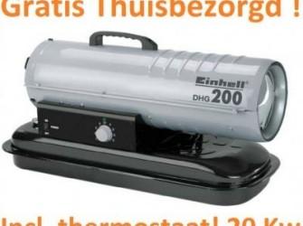 Einhell diesel heteluchtkanon DHG 200