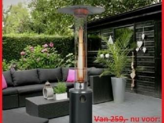 Flame heater Terrasverwarmer - sfeerhaard