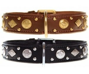 honden halsband Leer Royal Tough 40 mm