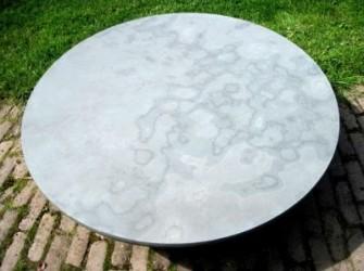 Ronde natuurstenen tafelbladen