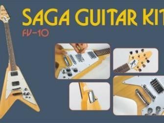 Bouw Je Eigen gitaar Strat, Les Paul, Tele, eva!
