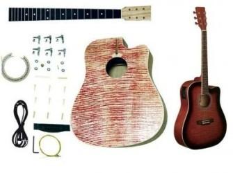Bouw je eigen (akoestische) gitaar met 4bands EQ