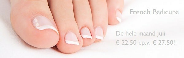 French Pedicure, Prachtige voeten deze Zomer