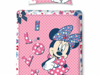 Minnie Mouse MAKEOVER Junior Dekbedovertrek