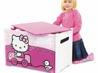 Hello Kitty Houten Speelgoed Kist