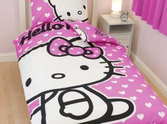 Hello Kitty HARTJES Dekbedovertrek