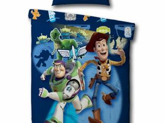 Toystory 3 Buzz en Woody Space Dekbedovertrek