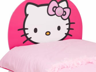 Hello Kitty Light Up Hoofbord of Hoofdeinde Bed