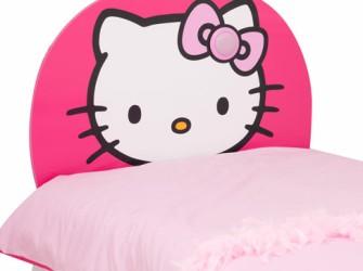 Hello Kitty Light Up Hoofbord of Hoofdeinde Bed