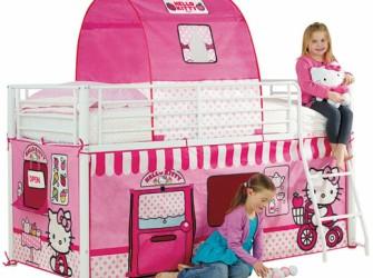 Hello Kitty Halfhoogslaper bed tent pakket