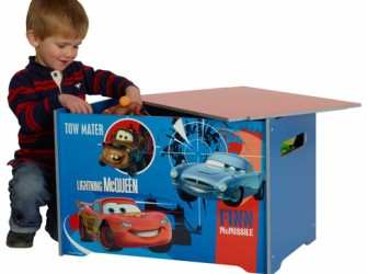 Disney Cars 2 Houten Speelgoed Kist