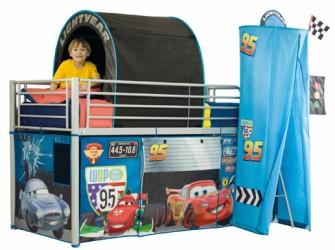 Disney Cars 2 Halfhoogslaper bed tent pakket