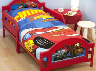Disney Cars 2 Kinderbed | Peuterbed