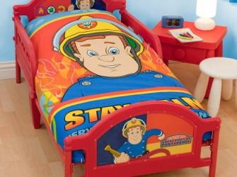 Brandweerman Sam Kinderbed | Peuterbed