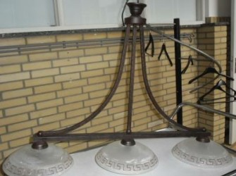 Lamp drie pitten