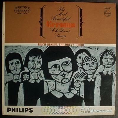 LP meisjeskoor/Duitse volksliedjes,USA pers, '61