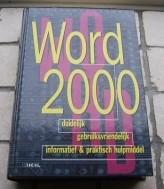 """Te koop het nieuwe boek """"Word 2000"""" van Mixing."""
