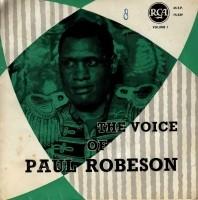 EP single Paul Robeson, jr'50, gst, zeldz. belg. pers.