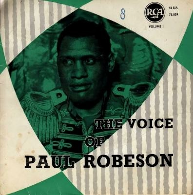 EP single Paul Robeson, jr'50, gst, zeldz. belg. pers.