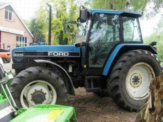 New Holland 8340SLE TRACTOR