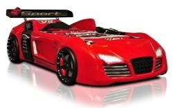 Autobed / Racebed V8 Turbo (R8 Look) Rood!!