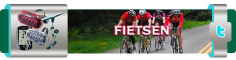 sportief op de fiets