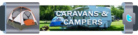 caravan en campers actiebanner