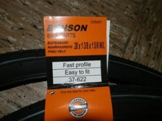 buitenband benson 28 x 1 3/8 x 1 5/8 W/L