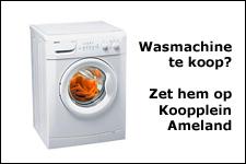 Wasmachine te koop?