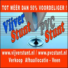 PVC Stunt & Vijver Stunt in Veen