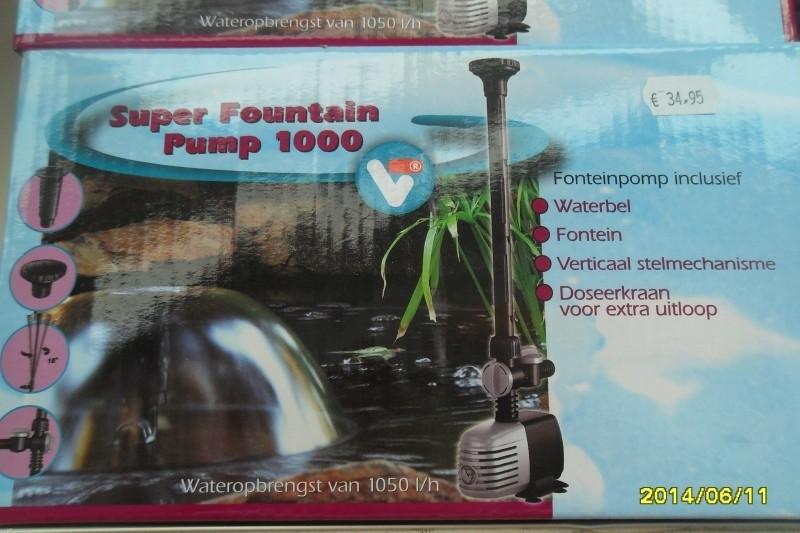 Super fountain pump 1000,3000