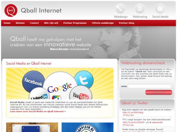Qball Internet B.V. | Webdesign & Techniek