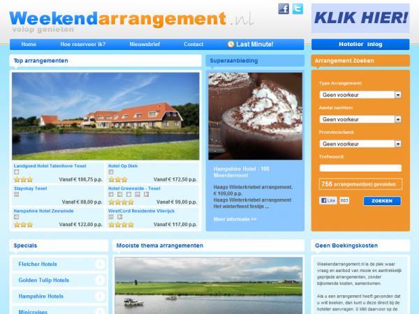 Weekendarrangement.nl | Volop genieten