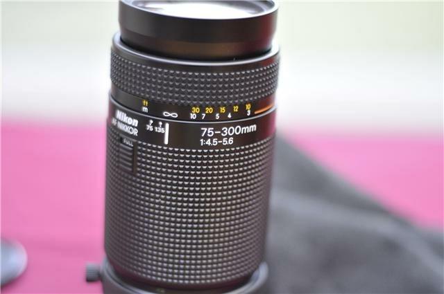 Nieuwe lens Nikkor 70-300 mm