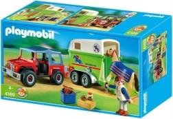 Playmobil 4189 Jeep met Paardentrailer