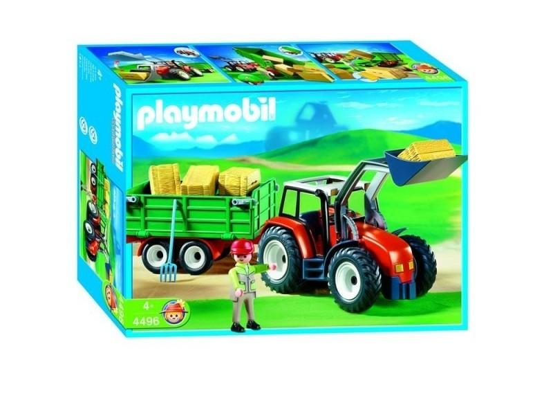 Playmobil 4496 Trekker met Wagen