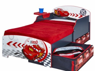 Disney Cars Houten Kinderbed | Peuterbed incl Lades