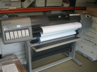 "HP Designjet 5500ps 42"" Kleuren Plotter Printer RJ"