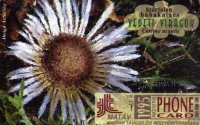 telefoonkaart uit Hongarije,1995