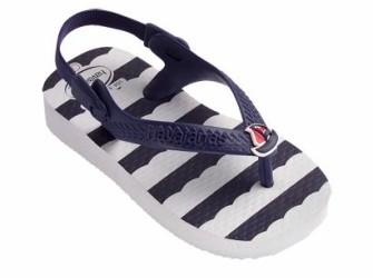 NIEUW! Havaianas slippers Baby Chic mt 25/26 wit