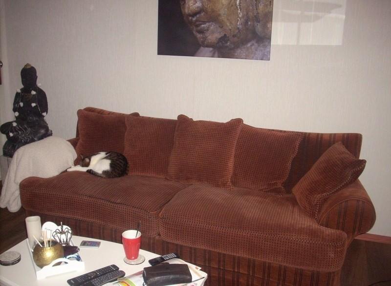 zeer mooie loungebank en 2 stoelen