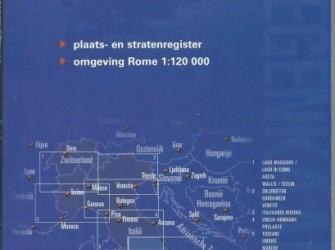 ANWB Wegenkaart Italië. 6, Zuid-Italië. Schaal 1:300.