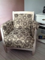 Zeer luxe nieuwe fauteuil