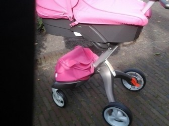 Stokke Xplory Ltd Edition roze